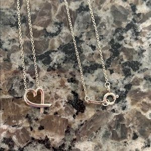 Tiffany Loving heart necklace